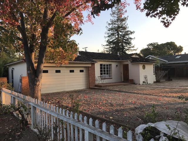 Rare opportunity for you to create and build your dream home on this 12,000± sq ft parcel in most desirable, coveted North Los Altos. Live in this beautiful, peaceful neighborhood known for it's trees, landscape and large lots. Four short blocks from quaint Los Altos downtown village, the library and the future community center. Home perfectly located in heart of Bay area, with easy commuter access. Excellent schools: Santa Rita Elementary, Egan Middle and Los Altos High.