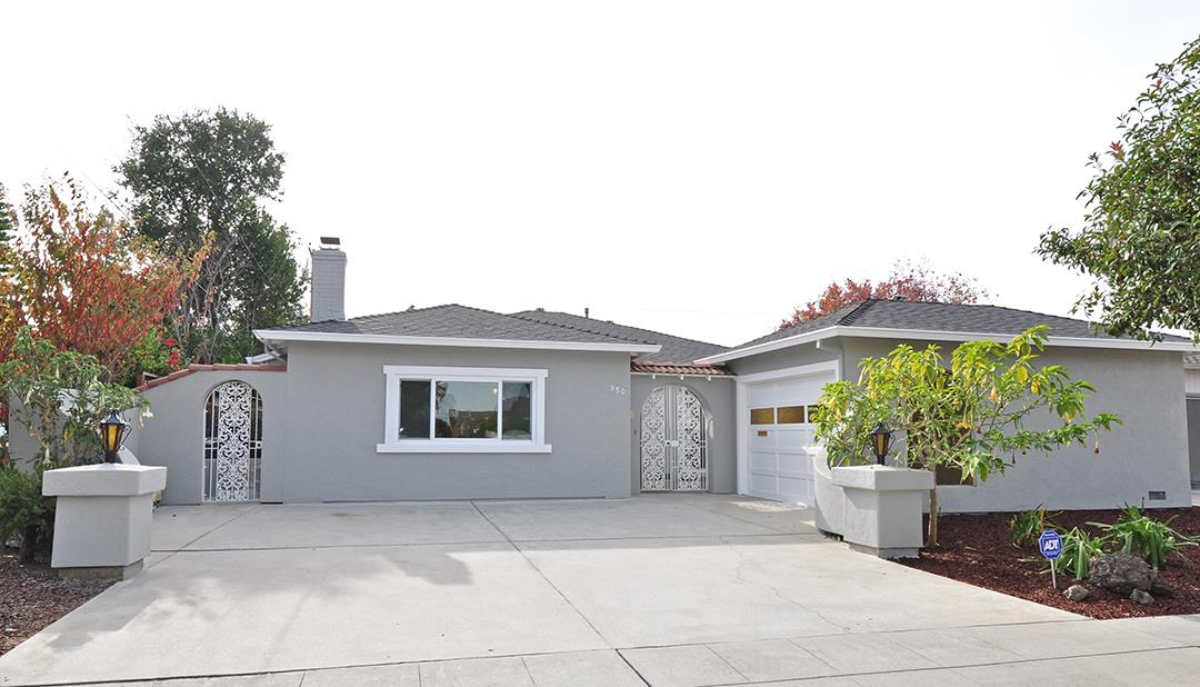 Detail Gallery Image 1 of 1 For 950 W Iowa Ave, Sunnyvale,  CA 94086 - 3 Beds   2 Baths
