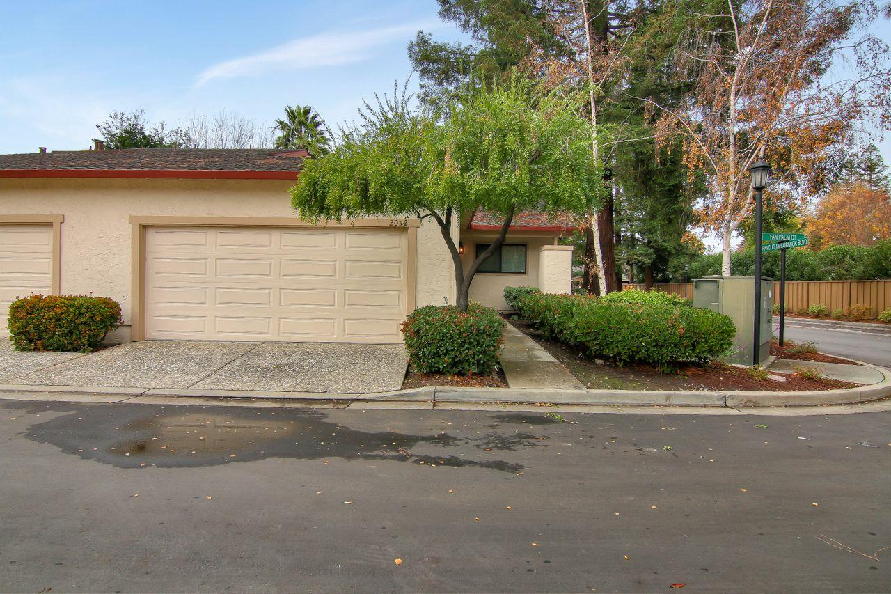 Detail Gallery Image 1 of 1 For 2042 Fan Palm Ct, Santa Clara, CA 95050 - 2 Beds   2 Baths