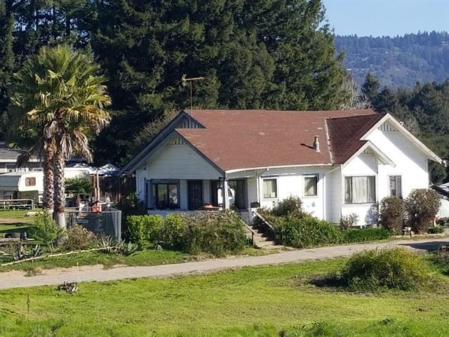 Beautiful 3.8 acre South Santa Cruz County parcel with gorgeous views, vast open space and endless possibilities. House is a 2bd / 1ba fixer upper in need of extensive TLC. Fantastic location - rural feeling but is only a short drive to grocery stores, restaurants, Highway 1 and other amenities. Buyers are encouraged to speak with the county about future possibilities for this parcel including a lot split - property is zoned R 1-10. Due to the home needing extensive TLC, it is believed that cash or a hard money or rehab loan will be necessary to purchase the home.