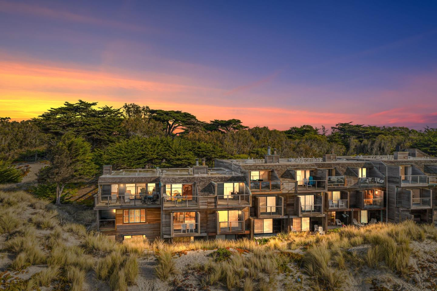 Welcome to Pajaro Dunes, a gated beach community sitting between Santa Cruz and Monterey. This 3-story townhome sits OCEAN FRONT with stunning 180 degree water views of the Bay! It offers 4 large bedrooms, each with it's own private bathroom- Ideal for vacation renters! You will love the open floor plan upstairs, with a wood burning fireplace, wet bar & skylight. Enjoy a glass of wine on your private balcony while watching the waves crash. If you are looking for an incredible vacation experience for your family or looking to purchase an investment property, then 2 Cypress Grove is a perfect fit. So kick your shoes off, turn your phone on silent, and enjoy the Coastal lifestyle you've been dreaming of!