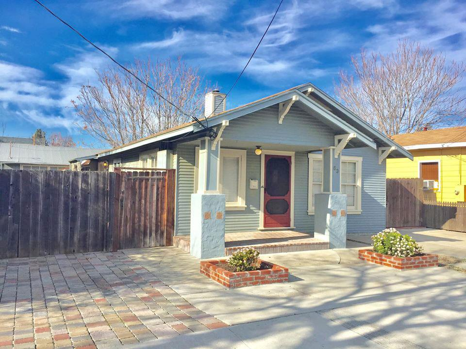 OPEN HOUSE SATURDAY & SUNDAY 1-4 PM  ^^^^ FIXER UPPER **** Prime Downtown Campbell location. Located directly across Campbell Park. Easy walking location to Downtown Campbell and/or Prune Yard. Eco-Friendly location in Campbell - Walk to VTA Light Rail to Downtown San Jose. Live in Downtown Campbell. Enjoy walking to the famous Campbell Farmer;s Market, and the many annual festivals, Campbell library. Easy access to 17/880.  Cute, Quaint house on a big lot.  Features: 2 Bedrooms | 1 Bathroom, Cozy 900 sq.ft. living space. detached 2' garage. Fenced 8,379 sq.ft. lot. Room for RV & Boat. and plenty of areas to garden. .Development potential - PD Zoning...