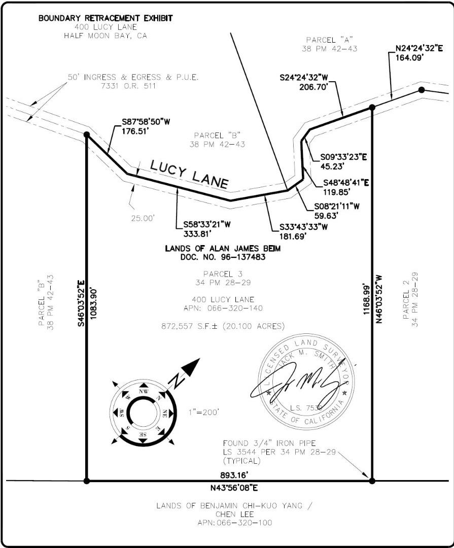 Detail Gallery Image 1 of 11 For 400 Lucy Ln, Half Moon Bay, CA 94019 - – Beds | – Baths
