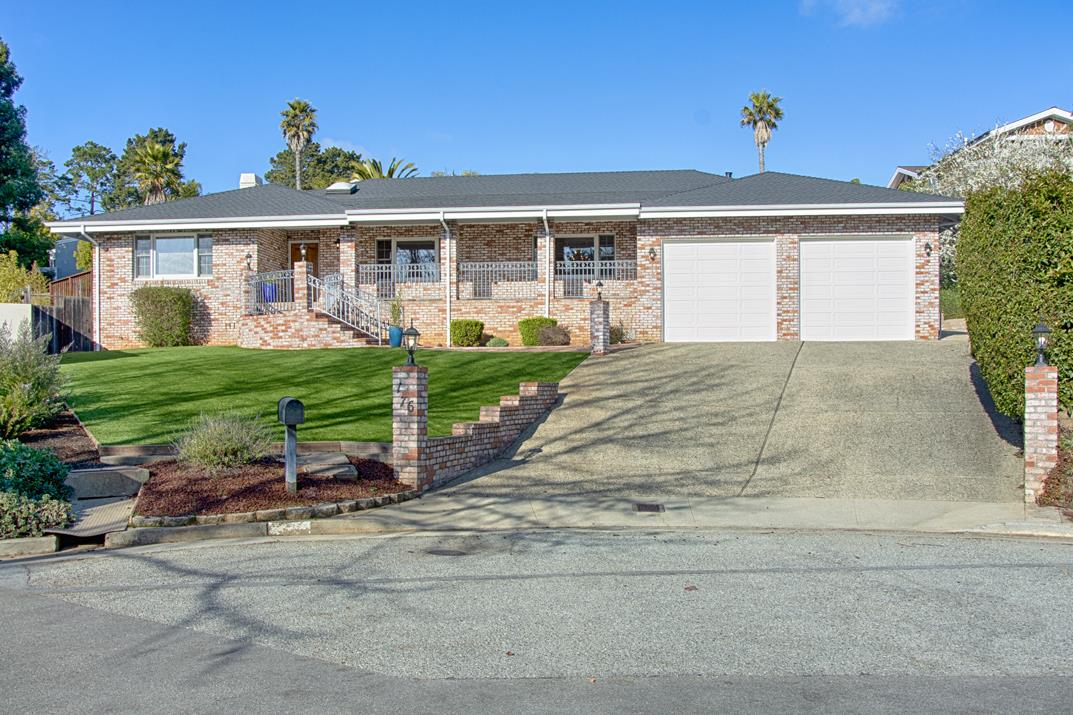 Lovely Single Story home,4bd.4 ba.in the sought-after Rio Del Mar Beach Country Club Park neighborhood,located at the end of a double cul-de-sac.This one-story home has many features and roomy floor plan.Drive into garage or up to side of house for easy access.Two master bed-suites each w/ sliders that open out to a large deck.One bedroom & full bath has a great separate wing with its own entrance, but is part of the house.Great space for grandparents,guests, office.South facing front porch welcomes you to the bright formal livingroom that opens to the dining room. Features many skylights throughout,a spacious family/great room, open to the kitchen which has storage galore,plenty of counter space.Enclosed porch off the family room.This home has plenty of storage,separate laundry room w/sink, counter space. Large yard,easy maintenance,room to entertain and enjoy the outdoors.This home has been lovingly taken care of. Close to Beaches,State Parks,Shopping,Restaurants,plus Great Schools!!