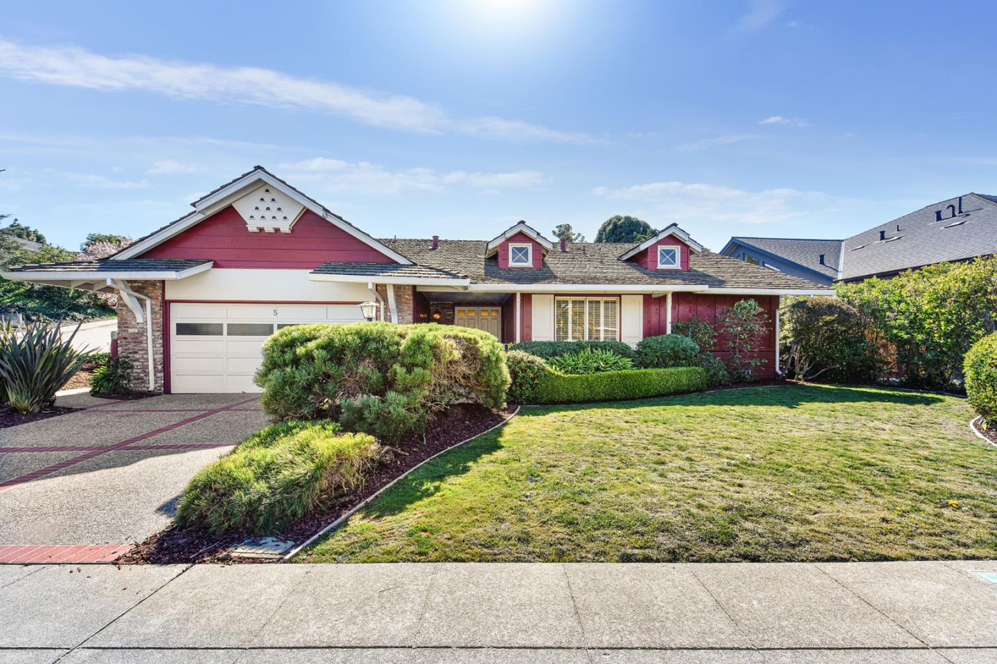 Detail Gallery Image 1 of 1 For 5 Conejo Dr, Millbrae, CA 94030 - 4 Beds | 2 Baths