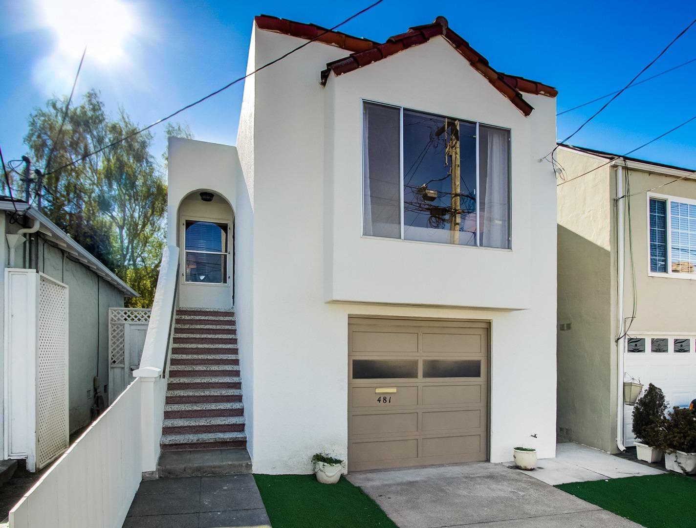 Detail Gallery Image 1 of 1 For 481 Acacia Ave, San Bruno,  CA 94066 - 2 Beds | 2 Baths