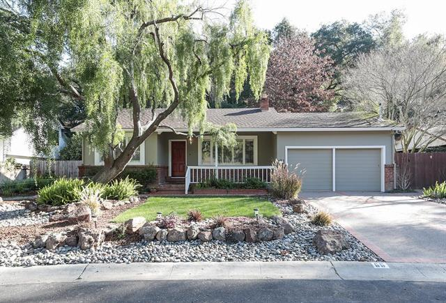 Detail Gallery Image 1 of 9 For 66 Oak Grove Ave, Los Gatos, CA 95030 - 2 Beds   1 Baths