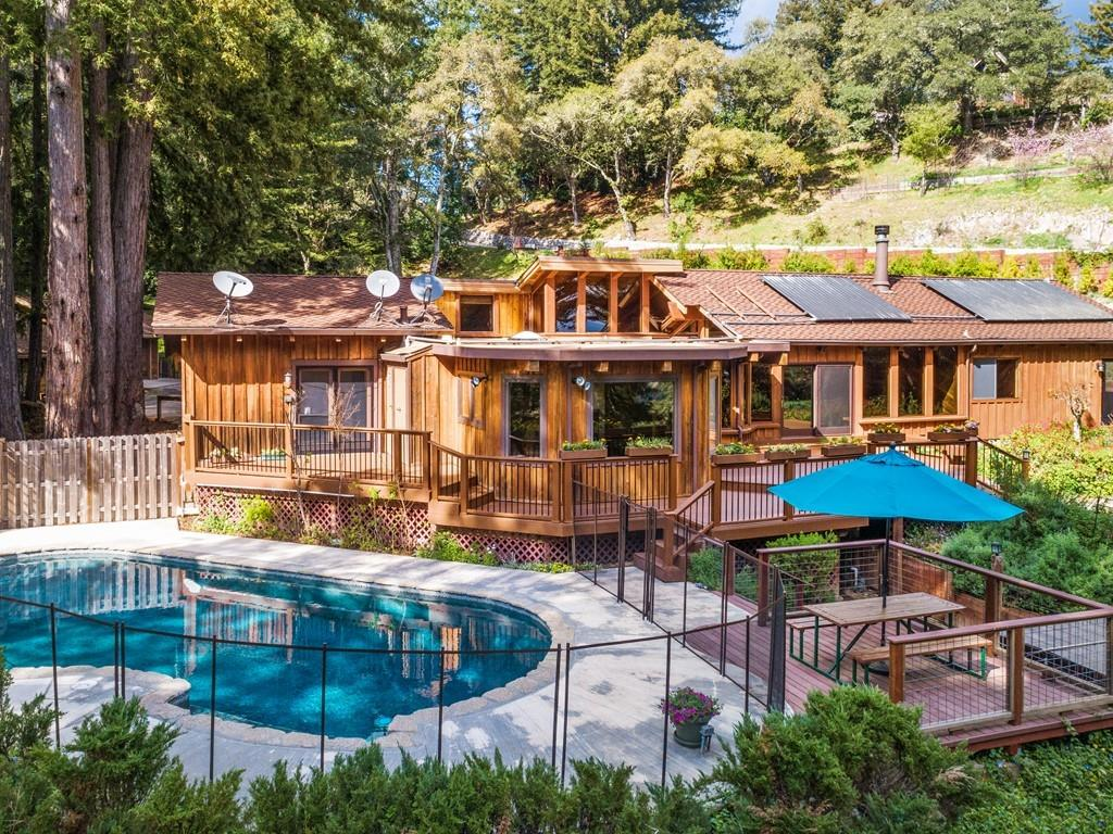 Detail Gallery Image 1 of 1 For 579 Hawks Hill Rd, Scotts Valley, CA 95066 - 4 Beds | 2/1 Baths