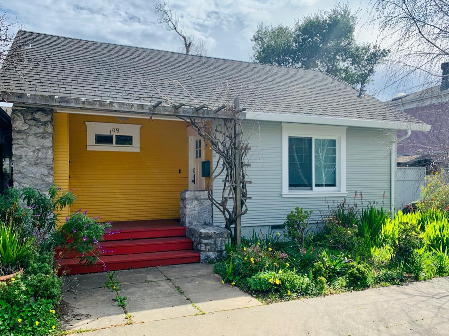 Beautiful remodeled cottage nestled in one of the best neighborhoods in the Westside of Santa Cruz. Perfect for relaxing and enjoying life. Finished attic to use as an artist studio or any other use with lots of storage and two windows. The oversized converted garage can be used as office, exercise room, workshop. Guest room in the backyard for resting and enjoying the luscious landscaping. Paid off 5 year old solar system. So many improvements, can't list them all. New floors and subfloors, all new appliances, new cabinets and quartz counter tops in the kitchen, laundry room, all new double pane windows . New ceiling fan. Remodeled bathroom and kitchen. New video doorbell, new NEST alarm system. Painted throughout. Improved plumbing with copper pipes. Fumigated in 2018. No street parking permit required. Conveniently located at walking distance to downtown Santa Cruz and to Abbey Coffee Lounge. Close to the freeway and easy access to beaches, walking and bike trails, eateries.