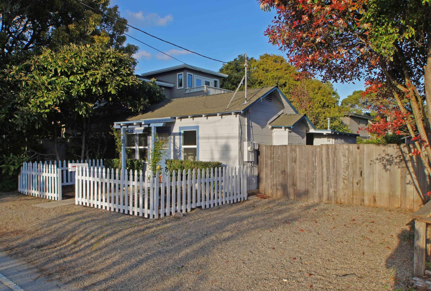 Classic Santa Cruz Beach Cottage:  Prime 9th Avenue location just three blocks to Twin Lakes State Beach (the Crows Nest Beach).  This is a beautiful spot in one of the favorite Santa Cruz beach neighborhoods.  There are views to the beach from the street in front of the home.  The evening sun drenches the front yard.  Within walking distance are The Santa Cruz Yacht Harbor and many fabulous beaches and surf spots.