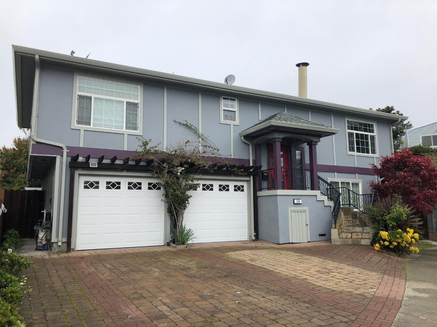 Detail Gallery Image 1 of 48 For 59 Amhurst Ct, Daly City, CA 94015 - 3 Beds | 2 Baths