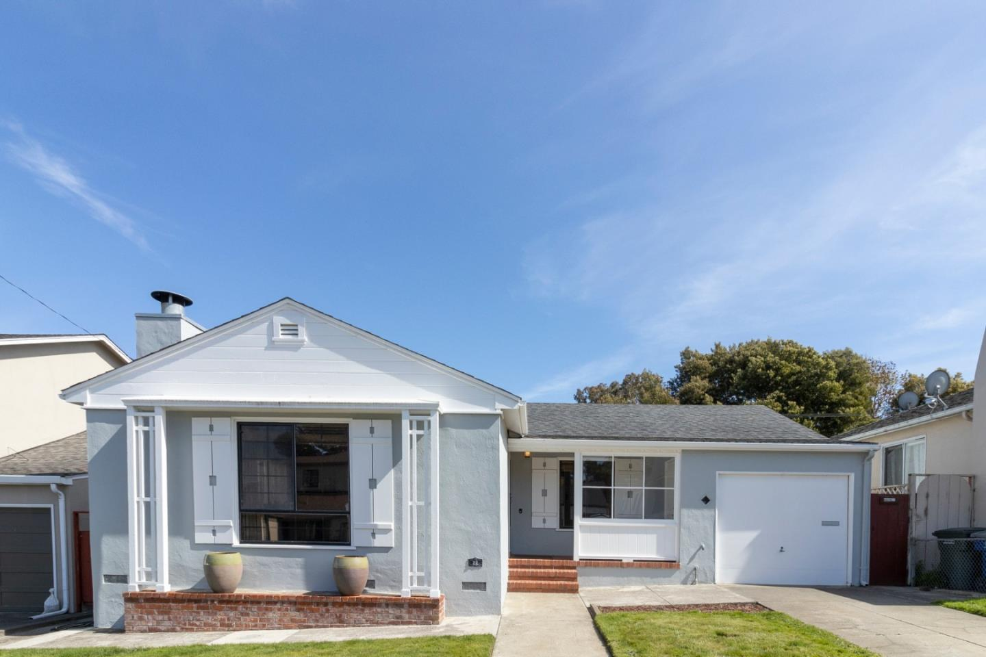Detail Gallery Image 1 of 1 For 22 Greenwood Dr, South San Francisco, CA 94080 - 2 Beds | 1 Baths