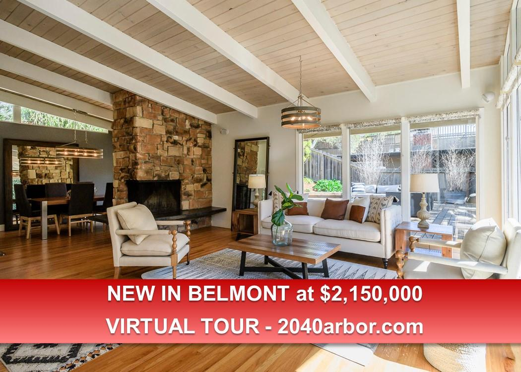 Detail Gallery Image 1 of 1 For 2040 Arbor Ave, Belmont, CA 94002 - 4 Beds | 2 Baths