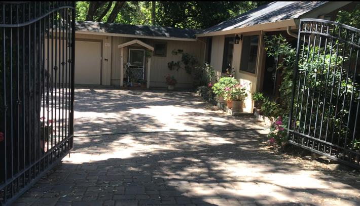 This is a truly special property. Custom home with 2 bedroom& 2 bath. ADU has 2 bed 1 bath approx 500 sqft. Home also has a studio over barn approx 288 sqft. Two paddocks for horses. Country setting with backyard views of Los Alamitos Creek. Very private and quiet. A must see to appreciate the uniqueness of this special home.