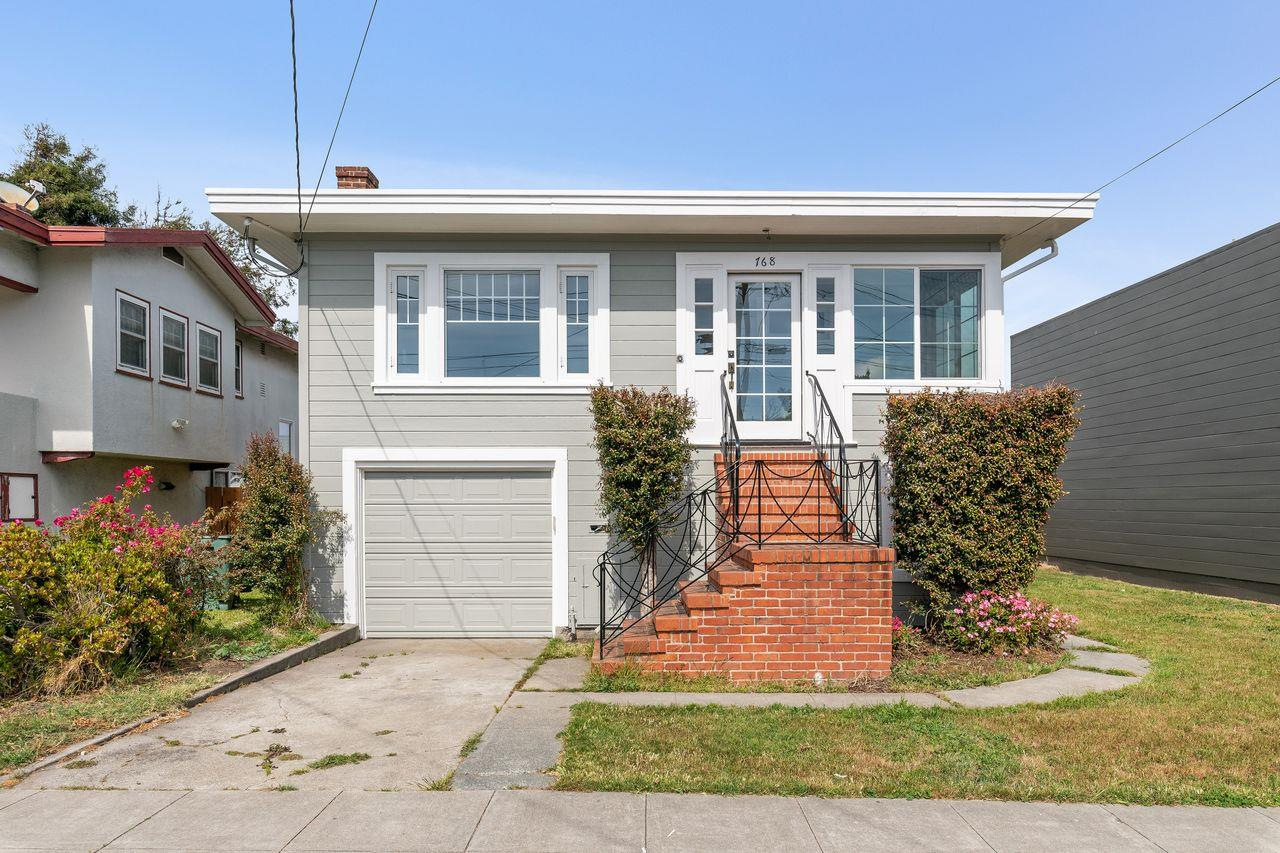 Detail Gallery Image 1 of 1 For 768 Masson Ave, San Bruno, CA 94066 - 2 Beds | 1 Baths