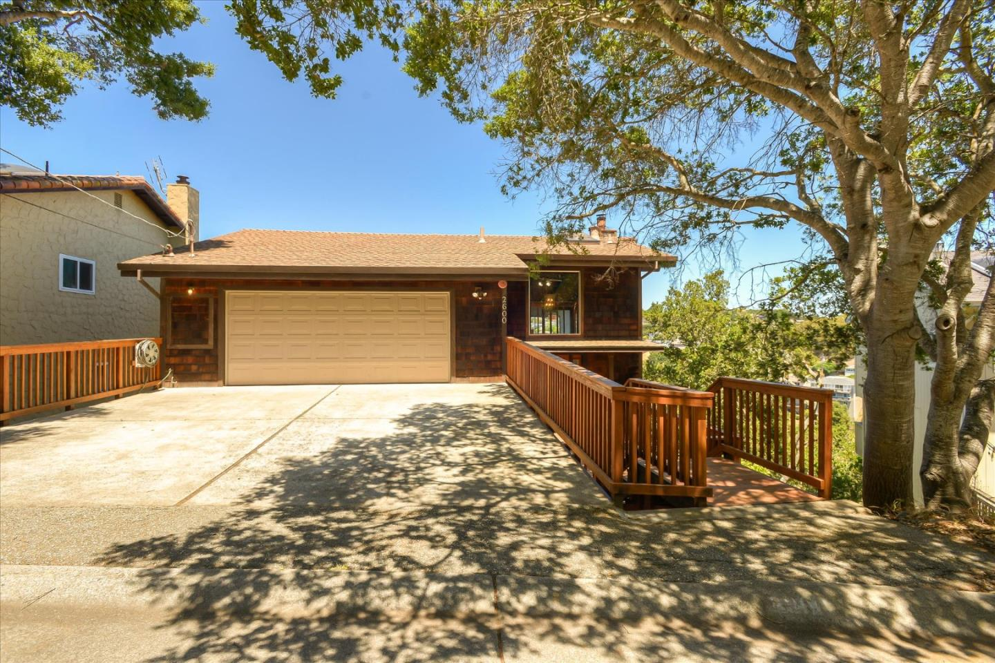 Detail Gallery Image 1 of 1 For 2600 Belmont Canyon Rd, Belmont,  CA 94002 - 4 Beds   3/1 Baths