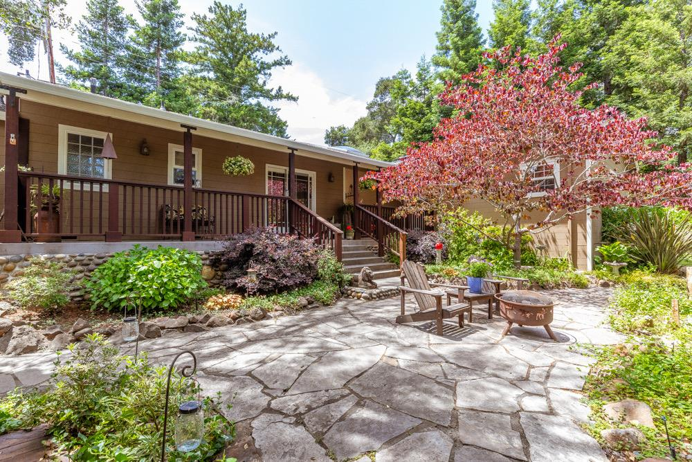 Www.azaleadrive.com. Pride of ownership emulates from this sundrenched flat single level fully remodeled Ranchette. Comes w/ 3 additional parcels.  Southwestern charm embraces you upon entry. Sunshine gleams off the specialty hardwood floors. Enter into the open living area gaze upon the kiva  fireplace. Stroll thru the kitchen w/its custom cabinetry, granite counters, newer stainless  appliances that lead into the warm, sunny dining area w/garden window and newer double pane windows throughout. On-demand water heater, home powered w/solar. Master-suite has high vaulted ceilings,walk in closet,master-bath w/ custom tumbled sandstone counters,dual sinks, travertine tile floor to ceiling w/glass doors and walk-in oversized steam shower, Hear the ambiance of water trickling over the multi-level rocks,koi fish splashing.Sit in the hot tub enjoying the tranquility.Outside Entertainers delight custom bbq,kitchen w/sink,water,gas,.25x15 gym w/half bath,oversize 2car garage,gardens,shed  shop