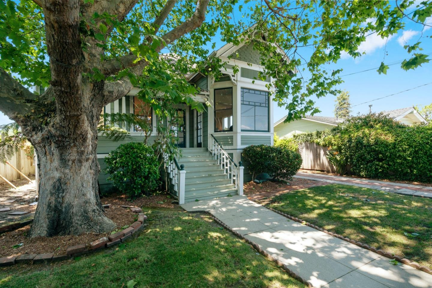 Historic charm abounds in this beautifully restored1900 Victorian, 4 bedroom, 2 bath vintage home in the heart of  Santa Cruz's desirable Westside. Set back from the street with privacy fence and landscaping and watched over by the giant Sycamore tree. The front entry porch leads` to the inviting grand foyer. Original Wood flooring, lighting, woodwork, architectural elements, stained and leaded glass and fixturesadorn the home throughout. The home has an excellent floor plan that is perfect for modern living. Lovely living room and parlor, charming sun room, the great kitchen and family area are all spacious and inviting. Downstairs master with sitting room. Upstairs are 3 bedrooms and full bath. Homes like this don't come around often. Don't miss the opportunity to own this fabulous Victorian. Visit the 3D and Virtual Tour at 1014KingSt.com. Please follow the guidelines listed on the Posted Rules for Entry Form at https://1drv.ms/b/s!AplLDFHAD0WBgbNJmt5bS_G7pBBY4A?e=VWP9Ct