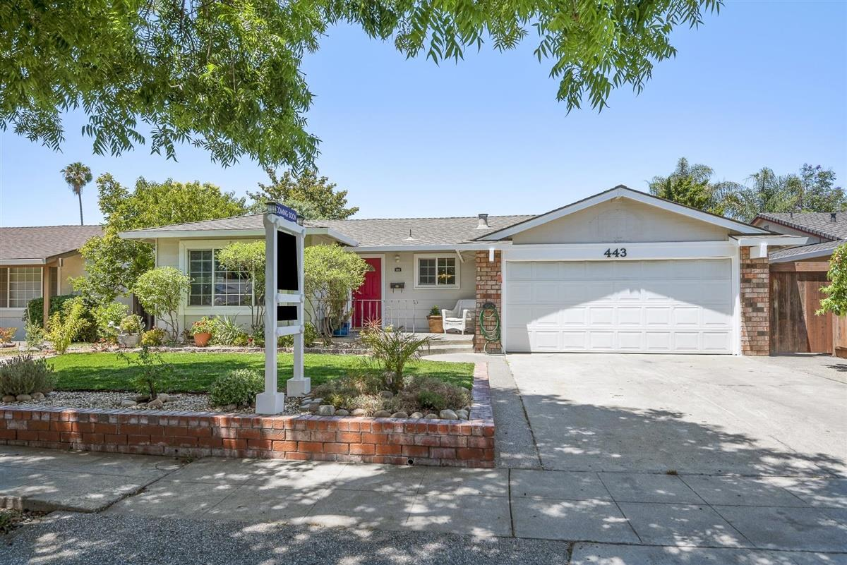 Detail Gallery Image 1 of 1 For 443 Roading Dr, San Jose,  CA 95123 - 4 Beds | 2 Baths