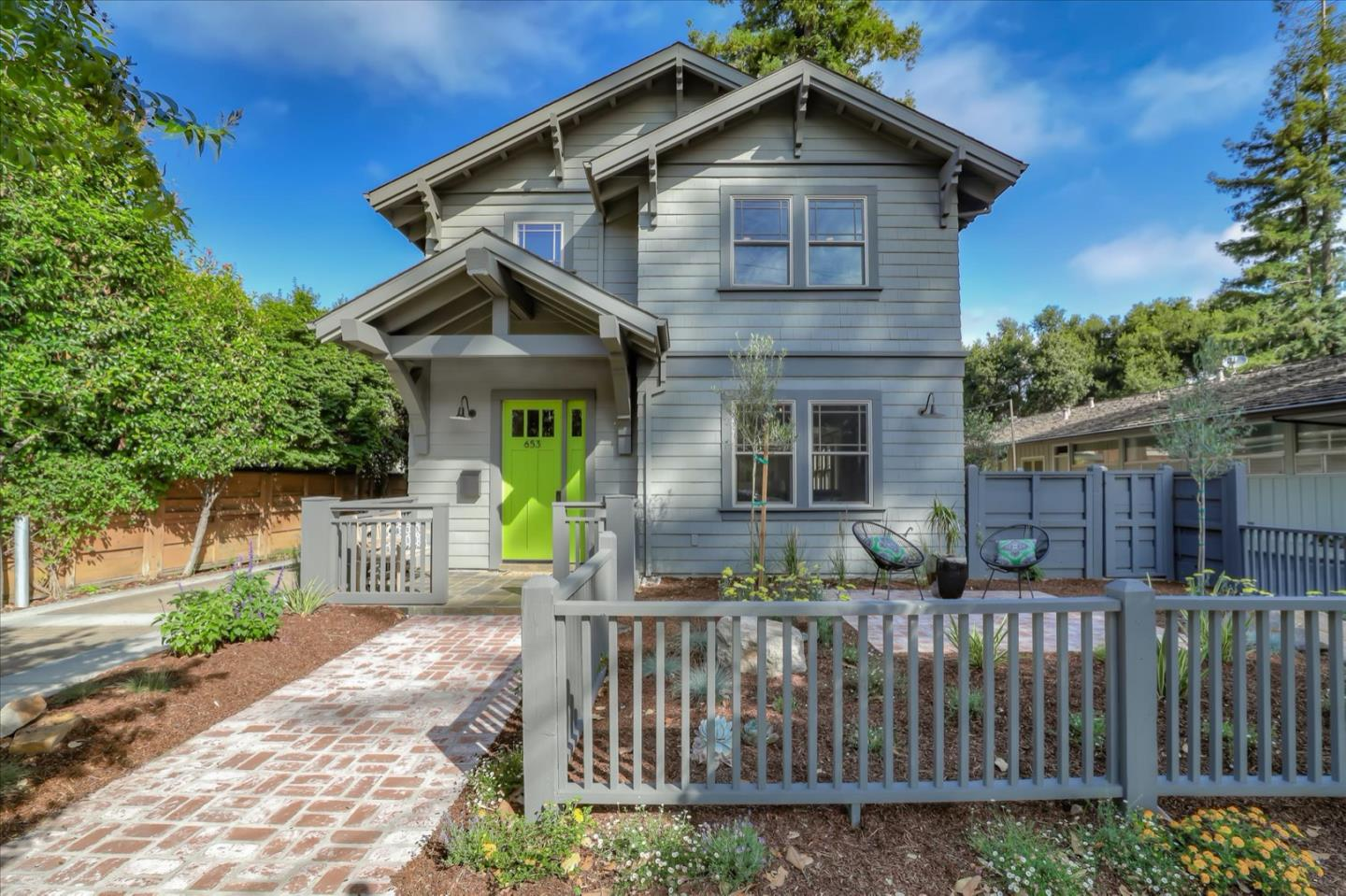 Detail Gallery Image 1 of 1 For 653 Homer Ave, Palo Alto, CA 94301 - 3 Beds | 2/1 Baths