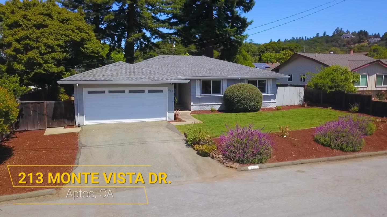 Detail Gallery Image 1 of 1 For 213 Monte Vista Dr, Aptos,  CA 95003 - 3 Beds | 2 Baths