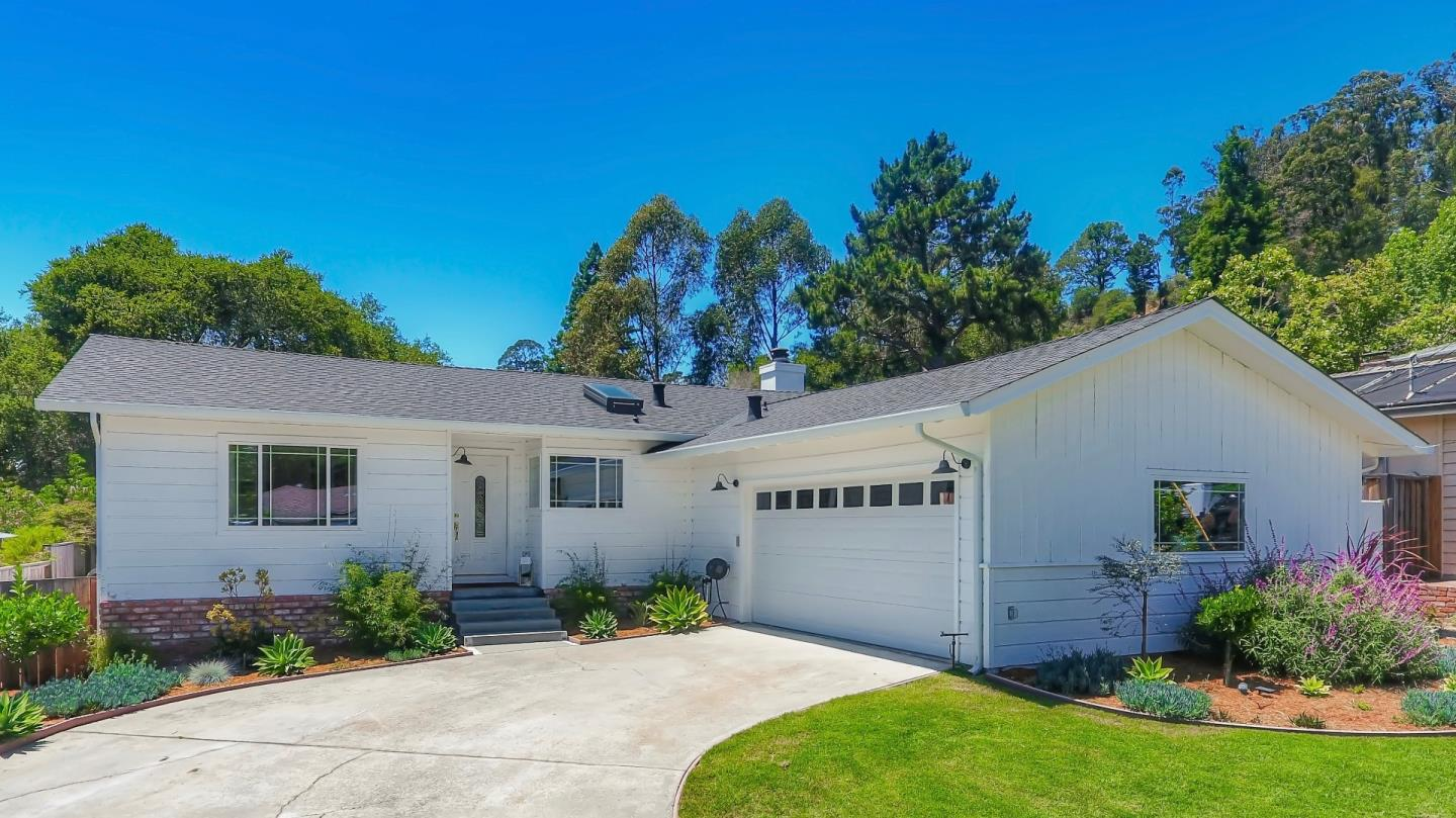 Rarely does a property that shares both a country & suburban setting in the banana belt of Santa Cruz become available for sale. Combine that with a single level remodeled home, & an opportunity of a lifetime, is a reality. Sits on a 8,015 sqft lot & provides 1,260 sqft of meticulously remodeled living space with 3 bedrooms & 2 full baths on 1 level. Starting with upgrades to the electrical, gas & plumbing systems in the kitchen, the current owners have transformed this home. Custom kitchen, hardwood flooring, new interior doors, tankless hot water heater, recessed lights, new double paned windows & skylights. Shaker style cabinets with glass door uppers.They are capped with beautiful slab quartz countertops. All new KitchenAid stainless steel appliances. Master bedroom is spacious with oak hardwood flooring Outside, new roof & gutters protect the homes interior. Oversized 2 car garage. Backyard has a fort for the kids with a sand box but also room for a playground. So much more!