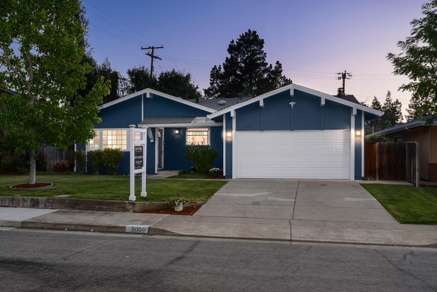Detail Gallery Image 1 of 1 For 903 Poplar Ave, Sunnyvale,  CA 94086 - 3 Beds | 2 Baths