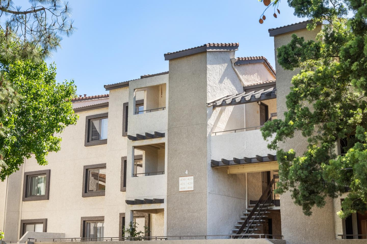 Stunning move-in ready 2 bed 2 bath condo, approximated 930 sqft. living space and built in 1987, located in the heart of Sunnyvale with top rated Cupertino schools - Stocklmeir Elementary and Cupertino Middle (Buyer to verify enrollment). Unit located on the 2nd floor and in the middle of the complex with two assigned gated underground parking, newly installed flooring throughout the unit, recessed lighting in living room, kitchen, and master bedroom, in-door washer & dryer with plenty of storage space, granite counter top in kitchen, cozy balcony on the left overlooking the barbecue area, and a large storage room. This beautiful complex has pool, spa, club house, gym, children playground, and barbecue area and is centrally located close to El Camino Real and S. Wolfe Road with quick access to Hwy 280/85, restaurants, retail, shops, supermarkets and many high-tech companies. HOA fee $408/month covers sewer, garbage, and water. Great starter home or investment opportunity.