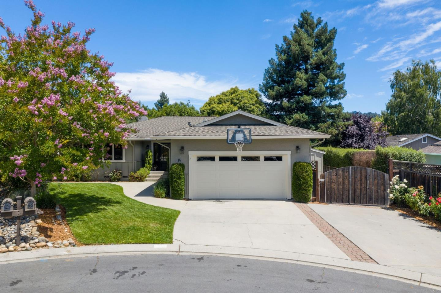 Detail Gallery Image 1 of 1 For 14 Purple Hills Ct, Scotts Valley,  CA 95066 - 3 Beds | 2 Baths