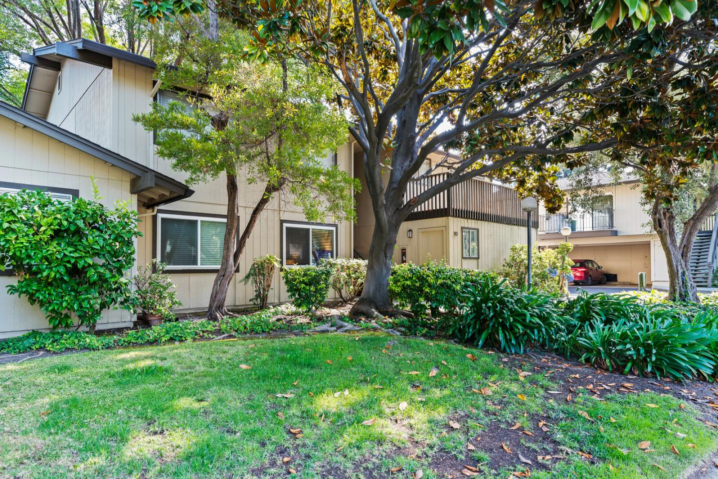 Enjoy the best of indoor/outdoor living in the heart of Silicon Valley with this cozy ground- floor condo with huge private patio. Located just minutes from downtown Mountain View, this home has easy access to highways 101, 237 and 85 and is also within striking distance of the Google satellite office, NASA, the light rail, numerous walking and bike trails and much more! The property is part of a well-run HOA with low dues, clubhouse, heated pool, playground and lots of green spaces. Everything you need to live a comfortable lifestyle is all within reach of this great home! This property is a must see!  Virtual Open House 8/30 from 1pm  - 3pm Zoom meeting ID 84986870114