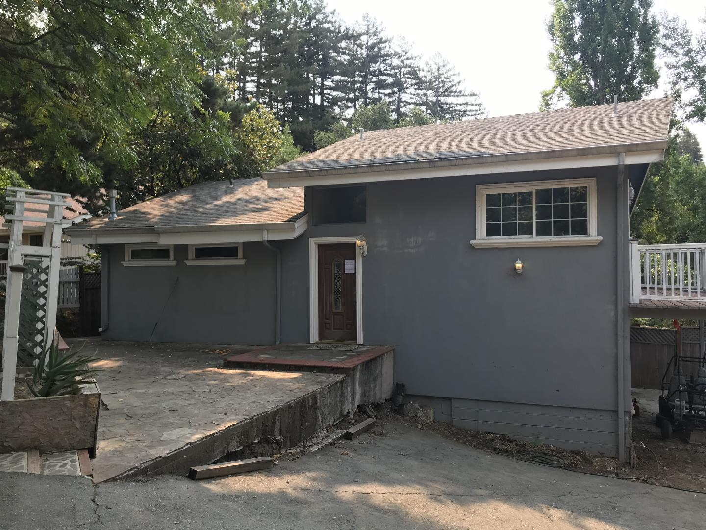 Property has building code violations.  Seller has been working with the county for 8 years trying to resolve but county has been uncooperative.  Seller did many upgrades while living there. Award winning Los Gatos schools. Move in ready.  Home has been a rental for the past 5 years.  Tenants to vacate by Oct 1.  Investment opportunity as a long term or short term rental. Record of violations from the county is available with seller disclosures.  Potential buyer must read and acknowledge all disclosures before any scheduled showings.  No bank financing or FHA loans.  Cash or private loan only, no seller financing.  Buyers are to contact their agent for required documentation to see this property.  Listing agent does not know the cost to rectify issues.