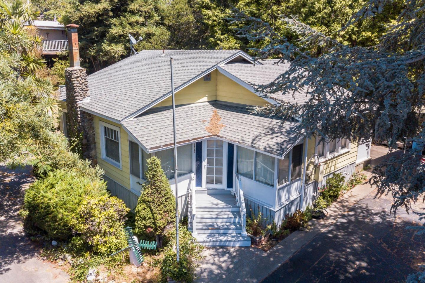 Location and opportunity meet. Great upside potential with this house. It is located walking distance to downtown Soquel and Main Street. Soquel has shops, restaurants and antique shops along Soquel Drive and Main Street. The location puts you within walking distance to so many great places and to local elementary and high schools. Great commute location as Old San Jose Road is less than half a mile away. 10,542 Square foot lot allows for room to expand for someone with ideas and allows for this home to be made into something amazing. The home is set back far enough off of Soquel Drive to still feel private.