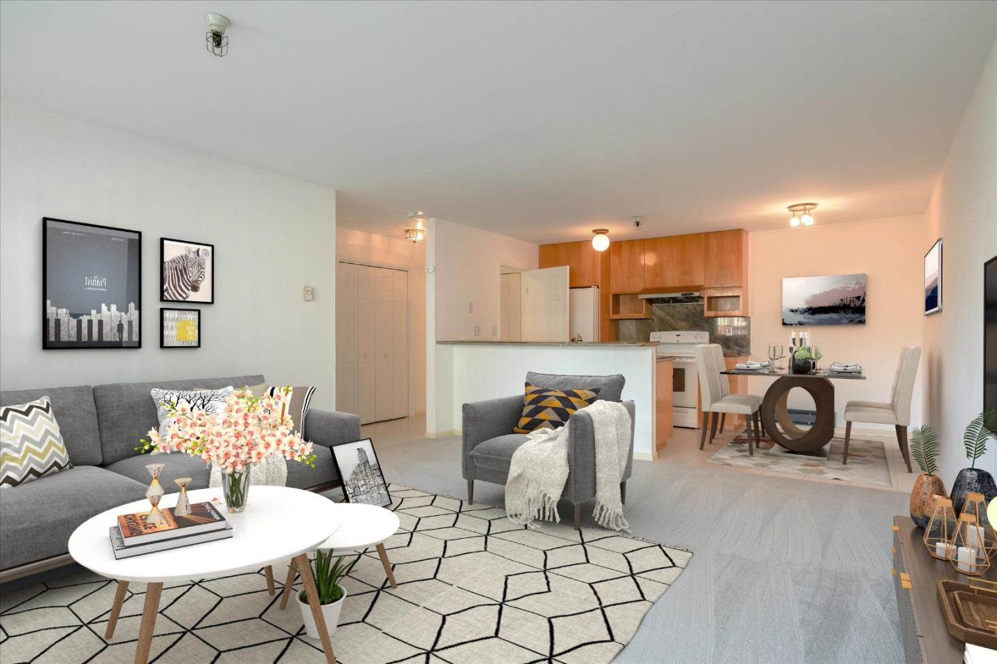 Detail Gallery Image 1 of 18 For 455 El Camino Real #405,  South San Francisco,  CA 94080 - 1 Beds | 1 Baths