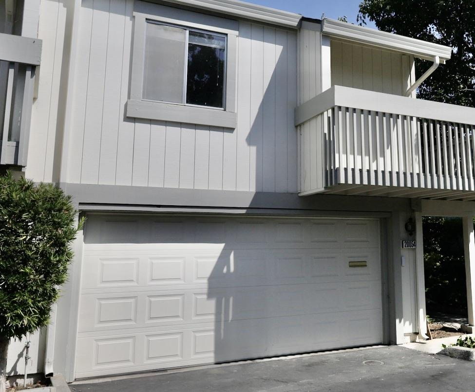 Enjoy this Spacious 2-story Townhome, End-Unit located in the city of Cupertino. 1060 square foot Townhome with New flooring and paint throughout, SAME SQUARE FT AS SOME 2 BR UNITS. Enjoy this open floor plan,  with a split-level design featuring a large living room and double sliding glass doors opening to a private fenced patio. The Bedroom has mirrored closet doors and a private balcony overlooking the complex. This community features greenbelts, a clubhouse, and a pool. Centrally located in Silicon valley with Cupertino schools. Walking distance to, the new Apple campus, local shopping, and dining. Don't miss this tremendous opportunity.