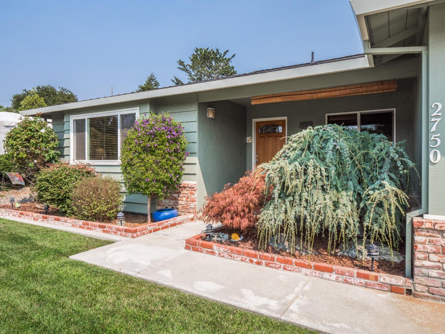 Let's call this immaculate single level, 3 bedroom, 2 bath home, The Cap-Soquel Beauty. As you are just a short walk to  Capitola's most popular Bakery, Fish, and Vegi shops, and groceries, or take about 5 minutes on that rusty bike, cruise right down the road to the famous Capitola Beach & Village, with all the fun it has to offer. So say.. you go inland from this home?  You are also very close to the cute Soquel Village, schools , and Hwy 1 for those who commute. I believe you will enjoy this clean well maintained  beautiful home, with its excellent exterior paint job, it's meticulous landscaping, front and back, and how it sits almost at the end of a quiet Cull-de-Sac. As you enter the home you are greeted with a widened hallway, Caned ceiling lights, Oak floors, a separate living room. Just down the hall is a more recent custom remodeled kitchen and a dining / family room combo. All the rooms are well maintained, comfortable in size. It's one to see! Check it out, Make it yours!