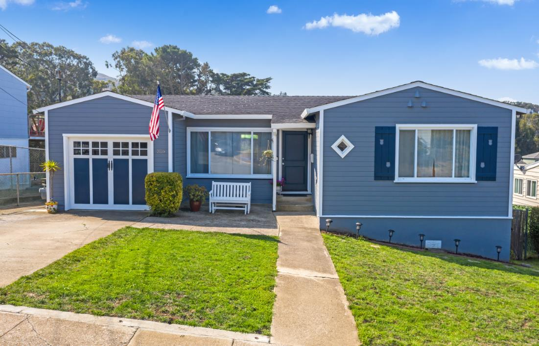 Detail Gallery Image 1 of 1 For 316 Avalon Dr, Pacifica,  CA 94044 - 3 Beds | 1 Baths