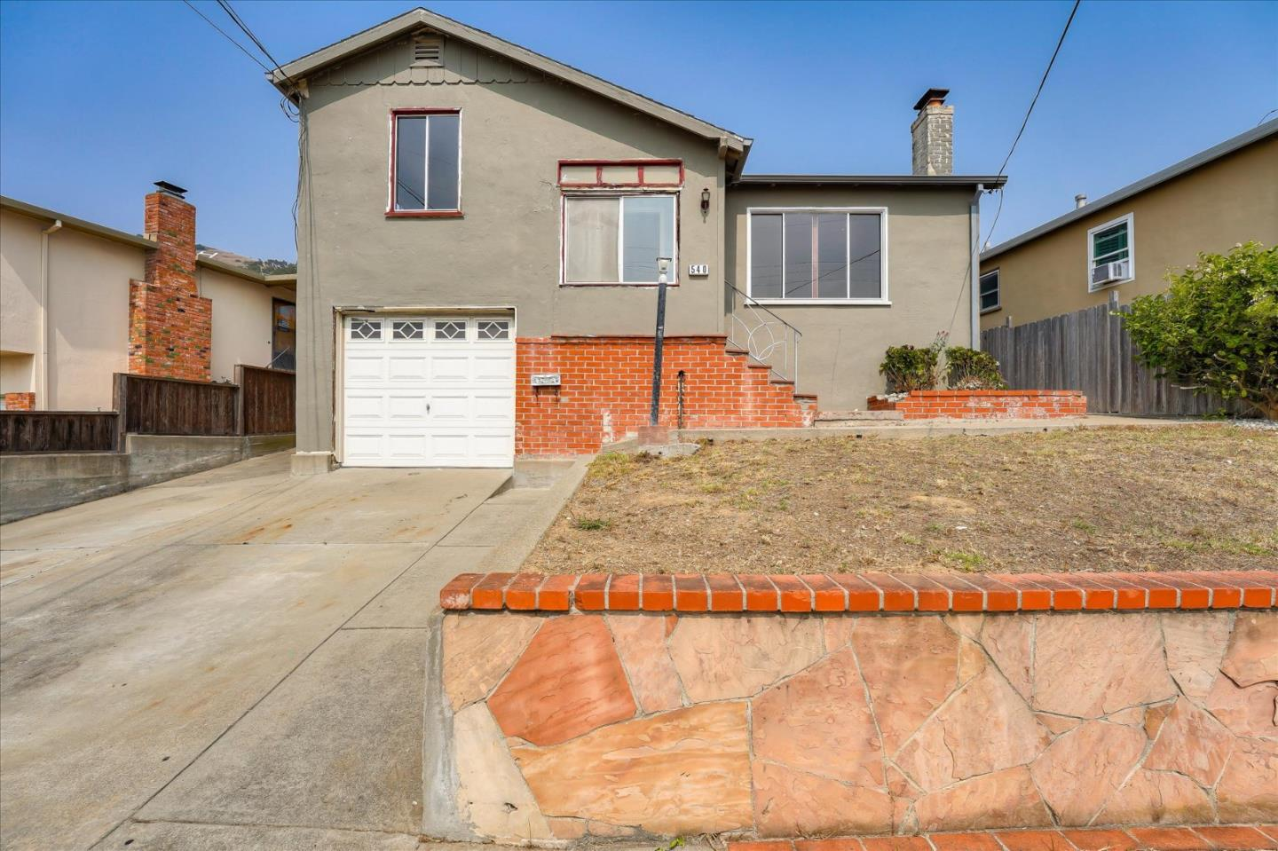 Detail Gallery Image 1 of 1 For 540 Park Way, South San Francisco,  CA 94080 - 3 Beds | 2 Baths