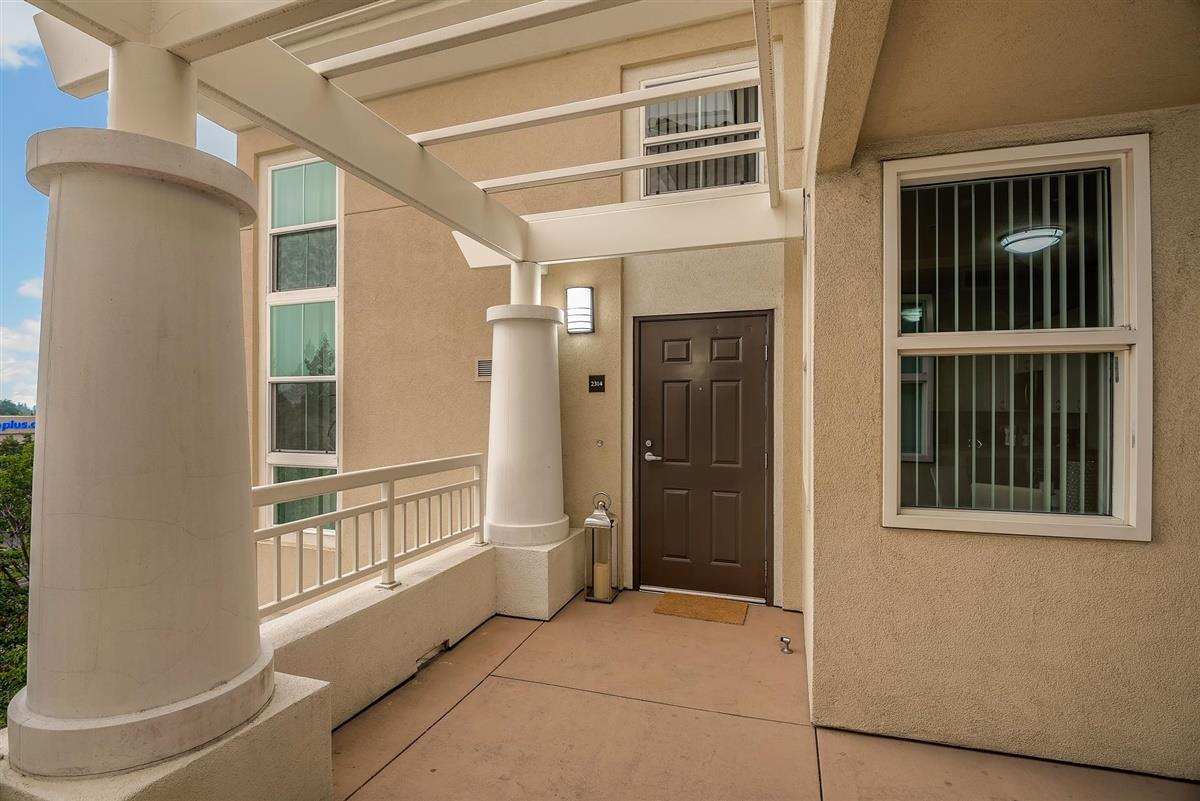 Welcome to 20488 Stevens Creek Blvd., #2314 in Montebello Condominiums.  This Penthouse is located in the Hub of Silicon Valley - Cupertino, just a mere block away from the New Apple Campus with easy access to 280, 85 and 101.  With soaring ceilings, this unique Penthouse model features a Spacious Kitchen with a Separate Dining Area and Bedroom + Bathroom Combination on each floor, maximizing privacy for each occupant.  Unit comes with two separate garage spaces.  The Complex offers residents a resort-like villa, complete with a private pool, fitness center, spa, and recreation clubroom that has full kitchen and fireplace to entertain guests.  Stroll to Cupertino Library or walk to Whole Foods, De Anza College, and other shops and restaurants.  One-stop public transportation to Westfield Mall, Stevens Creek car dealerships, and Sunnyvale Train Station for easy SF and Peninsula commute.  Minutes from Fremont Older and Rancho San Antonio Preserves.  Award Winning Cupertino Schools.