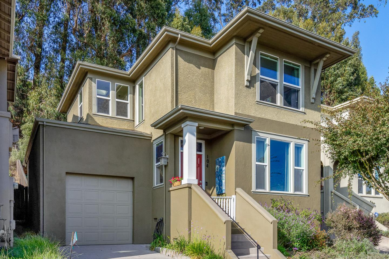Detail Gallery Image 1 of 1 For 104 Grandview Ter, Santa Cruz,  CA 95060 - 2 Beds   2/1 Baths