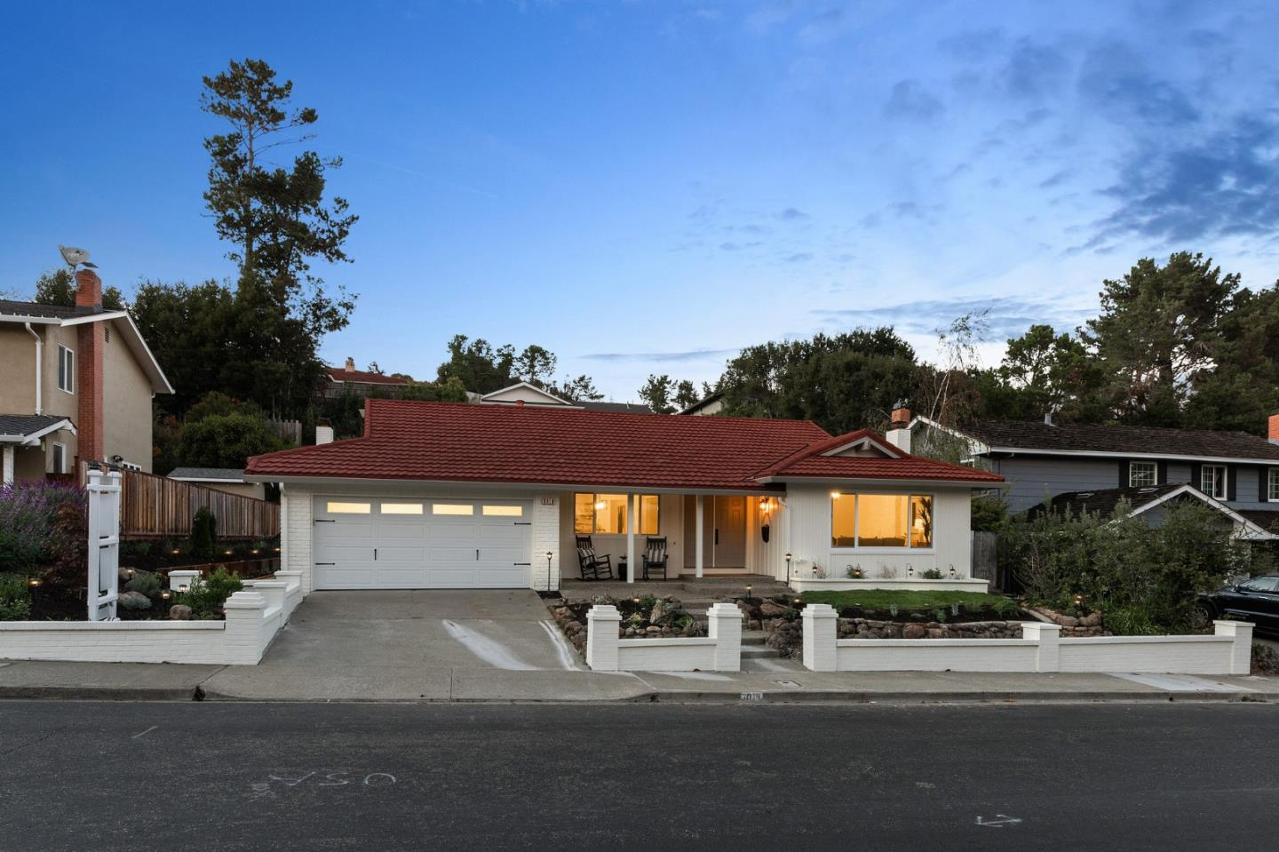 Detail Gallery Image 1 of 1 For 3016 Arguello Dr, Burlingame,  CA 94010 - 4 Beds | 2/1 Baths