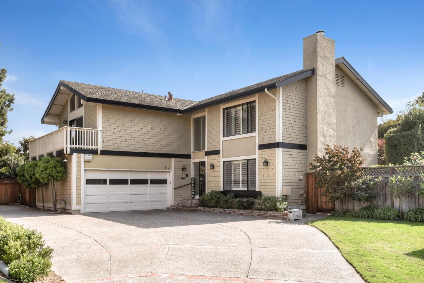Fabulous Foster City living! This beautiful home boasts 5 bedrooms, 2.5 bathrooms located on a quiet cul de sac on an oversized lot. A perfect floor plan for a growing family, the main floor has hardwood floors, crown molding, and recess lighting throughout. Spacious family room, dining room, living room with wood burning fireplace, separate laundry room and large kitchen with lots natural light. The master suite has a large walk-in closet, high ceilings, walk in shower with double sinks. Home has ample extra storage, large 2 car garage with plenty of parking. Family room and kitchen opens up to your backyard oasis, perfect for entertaining, gardening, relaxing, hot tubing, practicing your golf swing and putting, or just for kids to freely enjoy. Conveniently located between San Francisco and the Silicon Valley. Close to schools, parks, trails, & shopping. Must See!