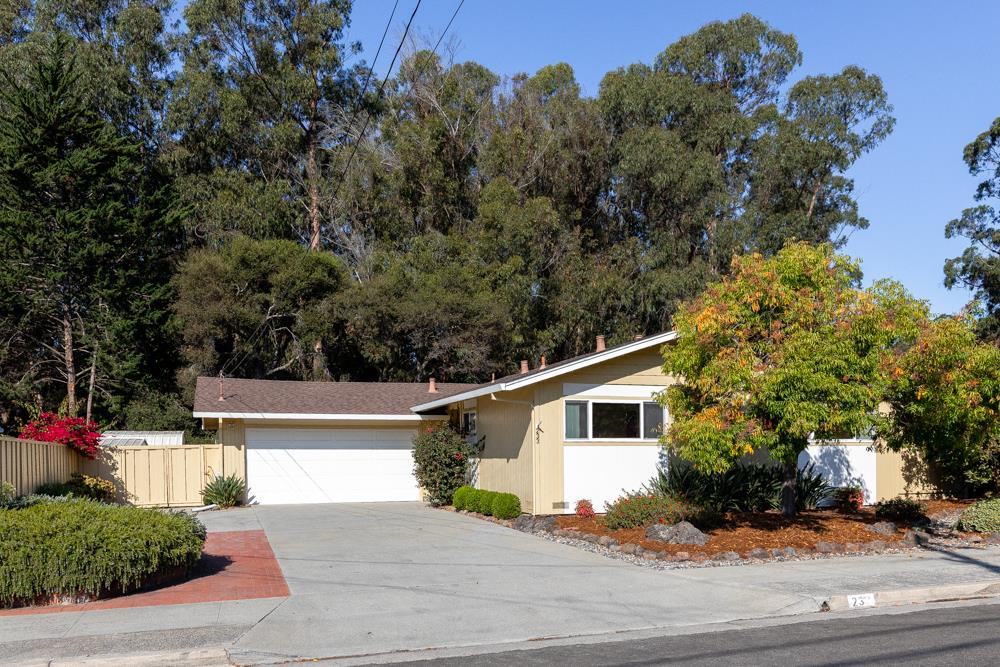 Fantastic neighborhood and single-level are two really good reasons to zero in on this one. Perfectly positioned on the edge of Santa Cruz Gardens w/open space views instead of neighbors behind you, this lovingly maintained single-level is a blank palate of possibilities, looking for someone to make it their dream. Well-placed windows give it a relaxed, private feel fr neighbors. Gatherings can start around a toasty gas fireplace and easily flow to the eat-in kitchen and out to a very quiet and private covered deck and generous patio area. Lrg 2-car garage off the kitchen handy for bringing groceries inside, w/ample room for shop projects and storage. Other notable features include forced air heating, double pane windows, 2 storage sheds and off-street parking for boat or RV. Santa Cruz Gardens is a very walkable, friendly neighborhood, with a community pool, park, cherished elementary school, nearby hiking and biking trails, and easy access to Hwy 1 and medical services. Welcome Home!
