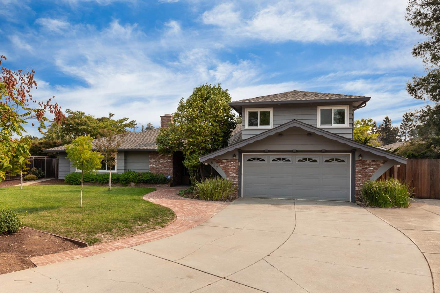 Detail Gallery Image 1 of 1 For 827 Orchid Pl, Los Altos,  CA 94024 - 4 Beds | 2/1 Baths