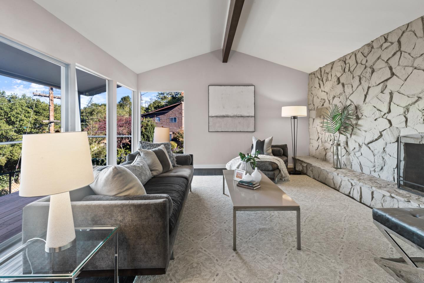 Detail Gallery Image 1 of 1 For 911 La Mesa Dr, Portola Valley,  CA 94028 - 4 Beds   3 Baths
