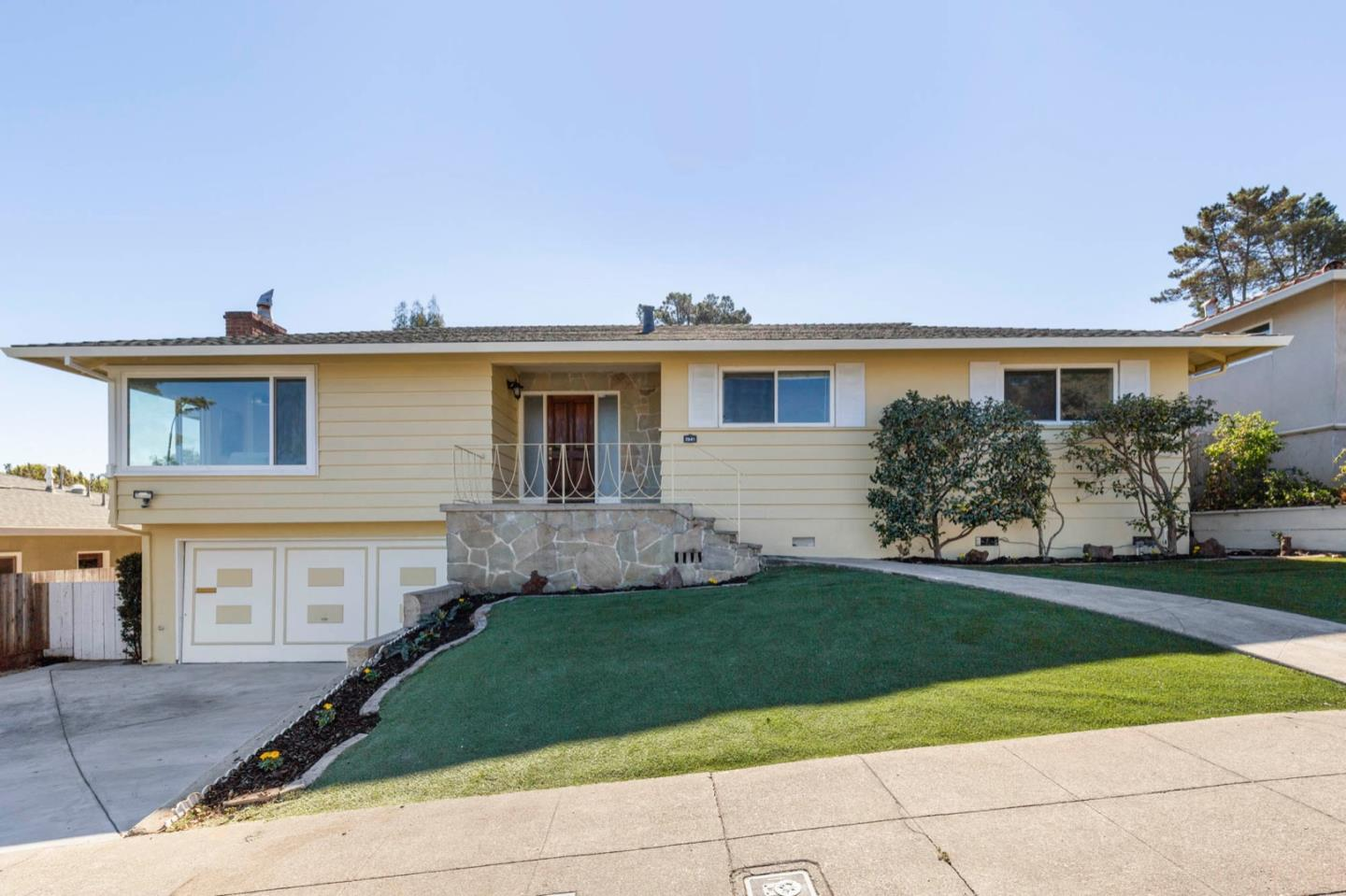 Updated charming 2-story home situated in the desirable Mills Estate neighborhood with dramatic bay views. 3 BR + Office. Spacious and flat backyard. Easy access to I-280 and 101 freeways. Short driving distance to the many shops and restaurants of both downtown Millbrae and Burlingame.