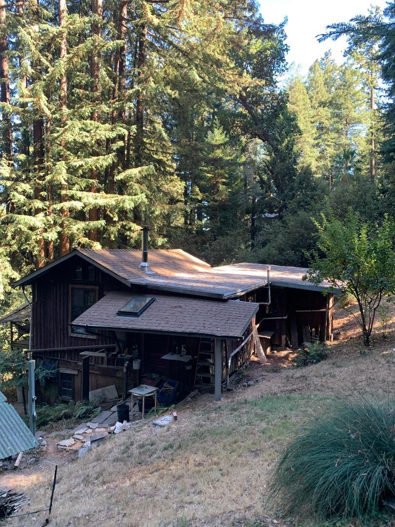Great opportunity for anyone seeking peace and tranquility! Live among the redwoods and make this your weekend getaway or live full time and wake up to the amazing environment that surrounds you!