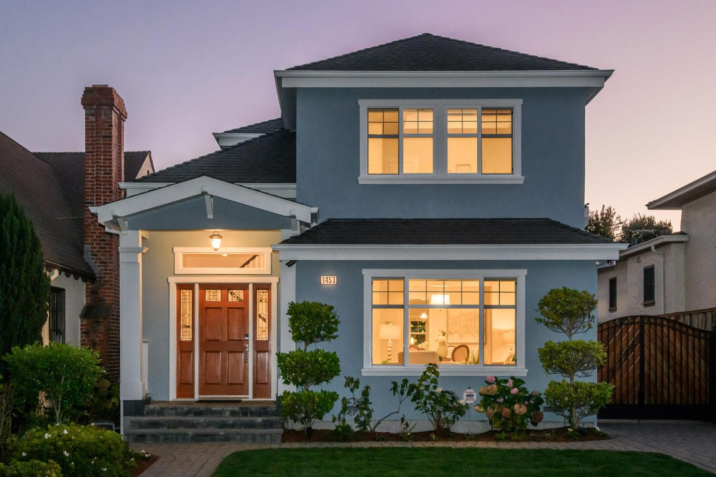 Detail Gallery Image 1 of 1 For 1453 Balboa Avenue, Burlingame,  CA 94010 - 4 Beds | 3 Baths