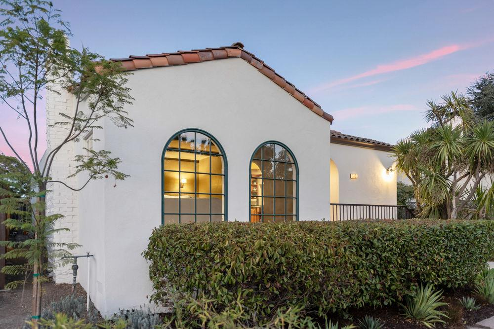 This Mediterranean inspired 3 bed, 2 bath home is located in the heart of Burlingame's tree-lined Easton Addition neighborhood. The entire sun-filled home has been freshly painted, inside & out. The living room is complete w/ a unique fireplace & an abundance of windows allowing a tremendous amount of light to flow through. In the heart of this home sits a large kitchen featuring a dramatic island w/ a prep sink, custom cherry cabinets, & custom granite countertops originating from the Jurassic period. A south-facing built-in window seat is a sunny space to enjoy family meals. Along w/ these amenities, the kitchen also includes a peek-a-boo breakfast bar making for an easy transition between the kitchen & formal dining room. The floor plan of this home evolves effortlessly moving from old world charm to blend cool temperatures of organic elements and Mediterranean collection of details. The neutral color pallet used in 1366 De Soto will provide its new owners w/ casual sophistication.