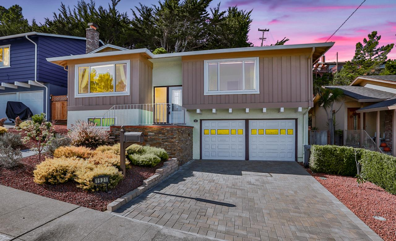 Detail Gallery Image 1 of 1 For 1921 Monterey Dr, San Bruno,  CA 94066 - 4 Beds   3 Baths