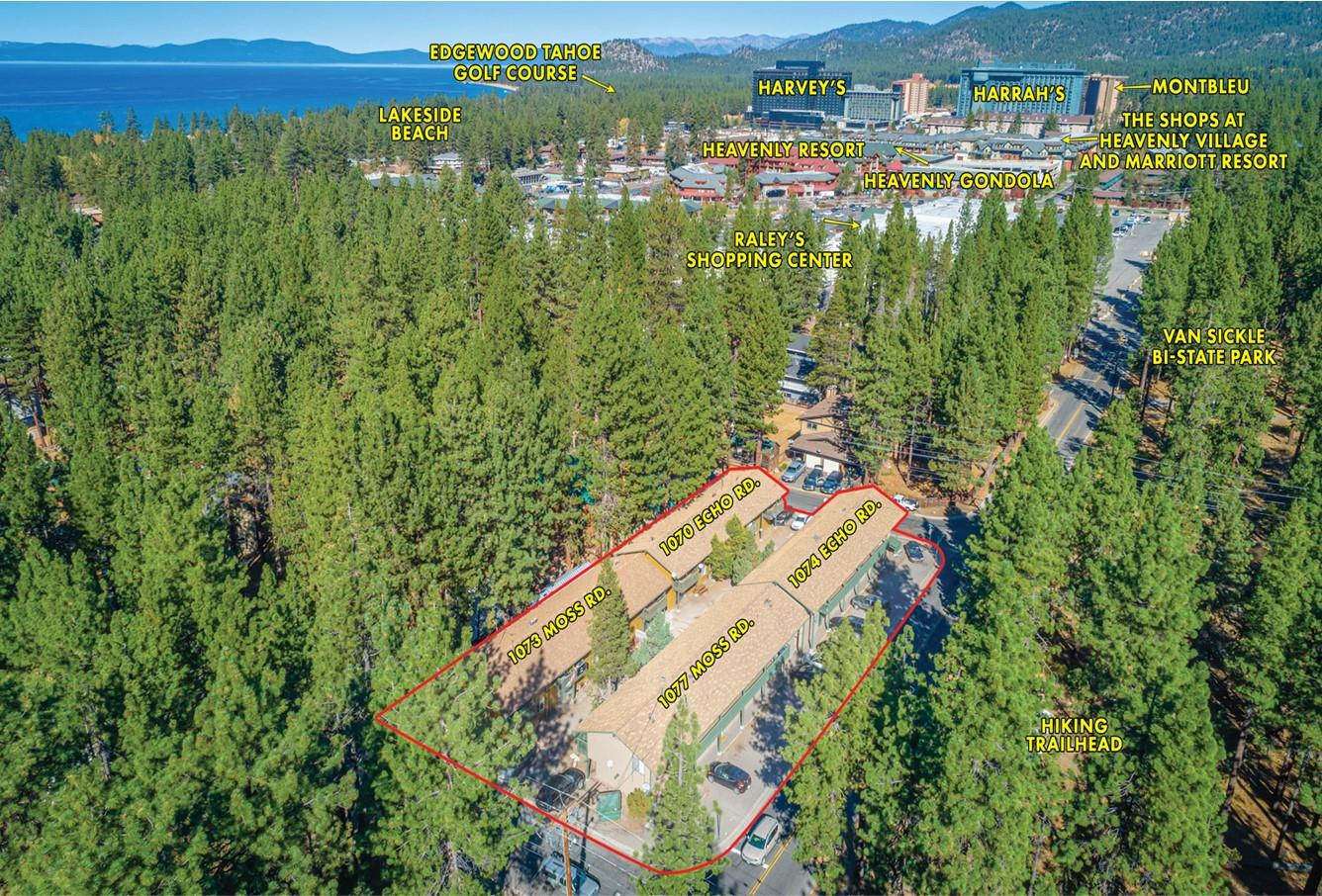 Detail Gallery Image 1 of 37 For 1070-1077 Echo-moss Rd, South Lake Tahoe,  CA 96150 - – Beds | – Baths